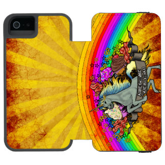 """Awesome Explosion"" Incipio Watson™ iPhone 5 Wallet Case"