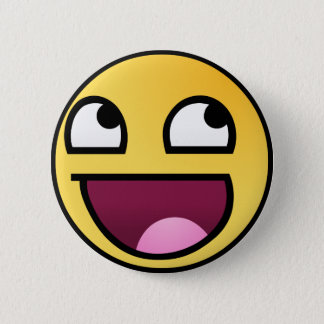 Awesome Face 2 Inch Round Button