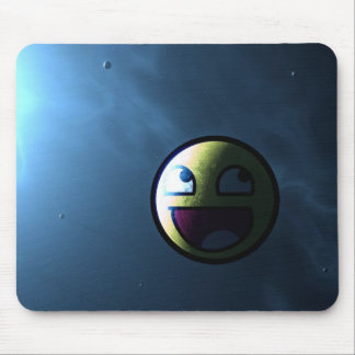 Awesome face mouse pad