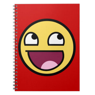 Awesome Face Notebook