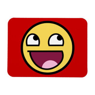 Awesome Face Premium Magnet