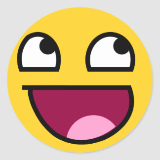 Awesome Face! Stickers