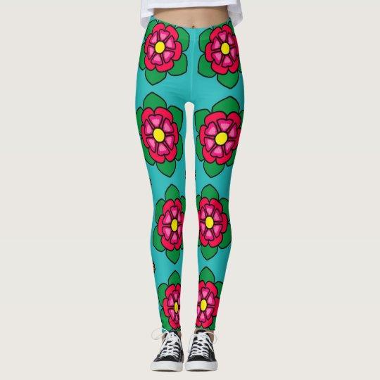 Awesome Flower Leggings