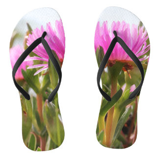 Awesome Flowers Blooming Flip Flops