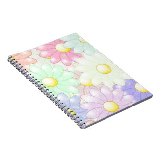 Awesome Flowers Note Books