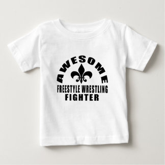 AWESOME FREESTYLE WRESTLING FIGHTER BABY T-Shirt