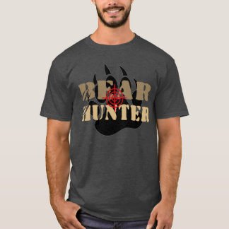Awesome Gay Bear Pride Bear Hunter Bear Paw T-Shirt