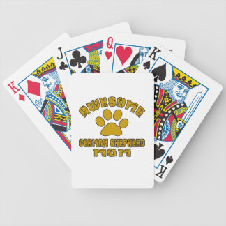 AWESOME GERMAN SHEPHERD MOM POKER DECK