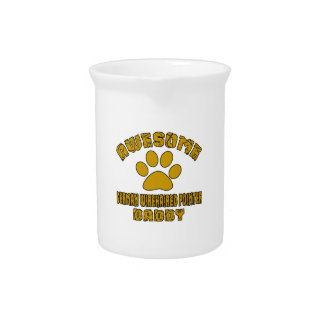AWESOME GERMAN WIREHAIRED POINTER DADDY DRINK PITCHER