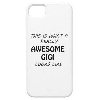 Awesome Gigi iPhone 5 Cover