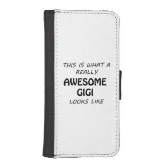 Awesome Gigi iPhone SE/5/5s Wallet Case
