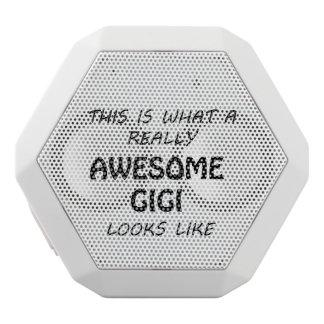 Awesome Gigi White Bluetooth Speaker