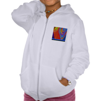AWESOME GIRL S ZIP HOODIE
