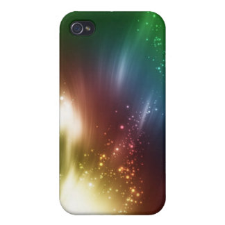 Awesome Glowing Art with Name IPhone 4 Speck Case
