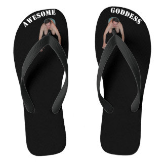 Awesome Goddess Flip Flops (WIDE STRAPS)