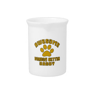AWESOME GORDON SETTER DADDY DRINK PITCHER