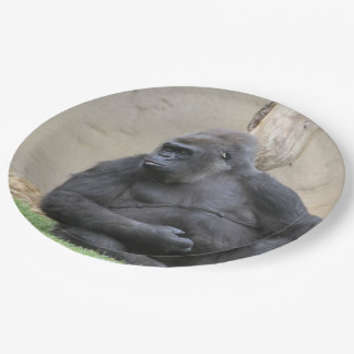 awesome Gorilla 9 Inch Paper Plate