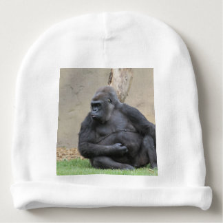 awesome Gorilla Baby Beanie