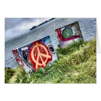 Awesome Graffiti Art in Berkeley California Card