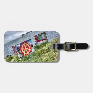 Awesome Graffiti Art in Berkeley California Luggage Tag