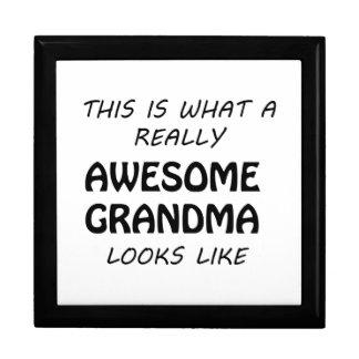 Awesome Grandma Gift Box