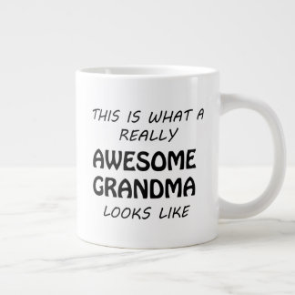 Awesome Grandma Large Coffee Mug