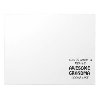 Awesome Grandma Notepad