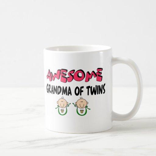 AWESOME GRANDMA of TWINS Mug