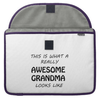 Awesome Grandma Sleeve For MacBooks