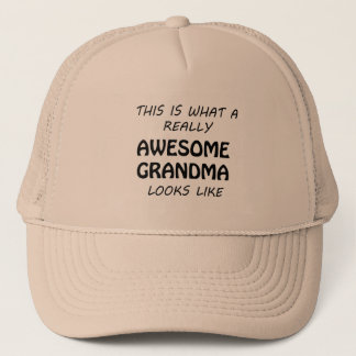Awesome Grandma Trucker Hat