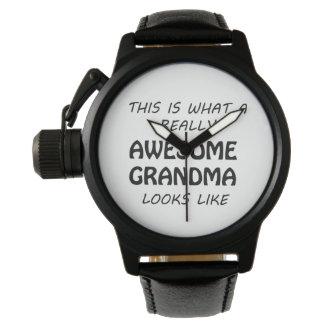 Awesome Grandma Watch