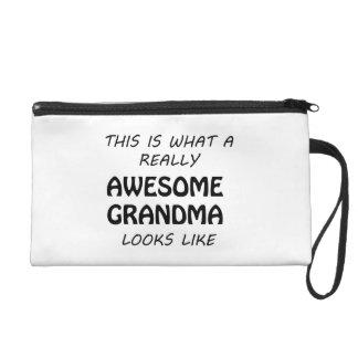 Awesome Grandma Wristlet