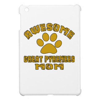 AWESOME GREAT PYRENEES MOM iPad MINI COVERS