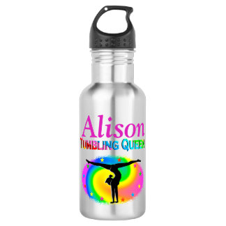 AWESOME GYMNASTICS PERSONALIZED WATER BOTTLE