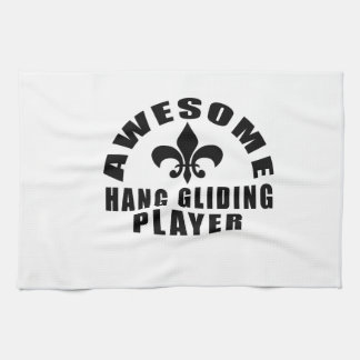 AWESOME HANG GLIDING PLAYER TOWELS