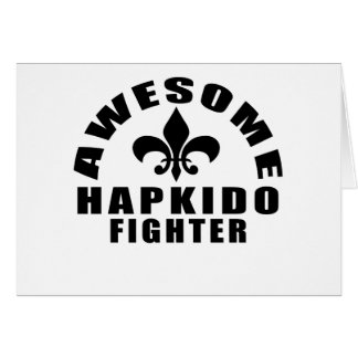 AWESOME HAPKIDO FIGHTER CARD