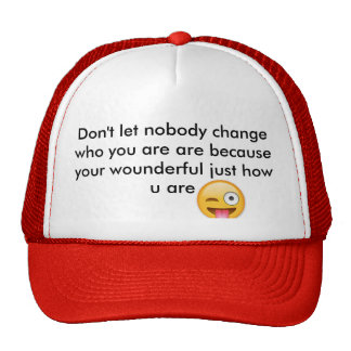 Awesome hat