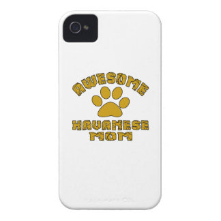 AWESOME HAVANESE MOM iPhone 4 CASE