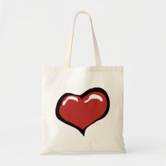 Awesome Heart Tote Bag