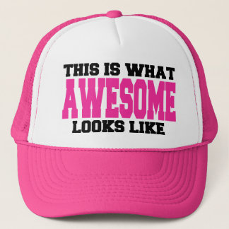 Awesome Hot Pink Trucker Hat