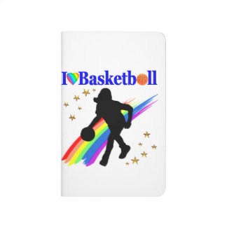 AWESOME I LOVE BASKETBALL DESIGN JOURNAL