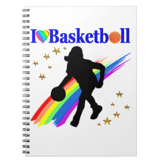 AWESOME I LOVE BASKETBALL DESIGN NOTEBOOKS