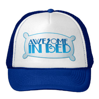 AWESOME in bed Hats