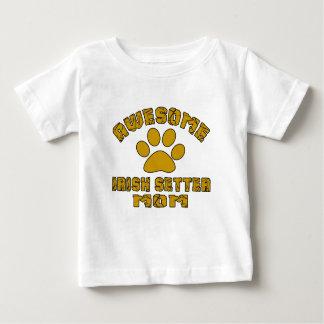 AWESOME IRISH SETTER MOM BABY T-Shirt