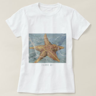 Awesome Island Art Starfish T-shirt by Yotigo