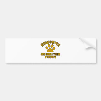 AWESOME JACK RUSSELL TERRIER MOM BUMPER STICKER
