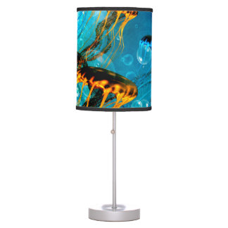 Awesome jellyfish desk lamps