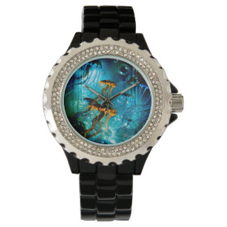 Awesome jellyfish wristwatches