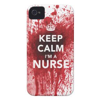 Awesome 'Keep Calm I'm a Nurse' iPhone 4 Case