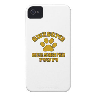 AWESOME KEESHOND MOM iPhone 4 COVERS